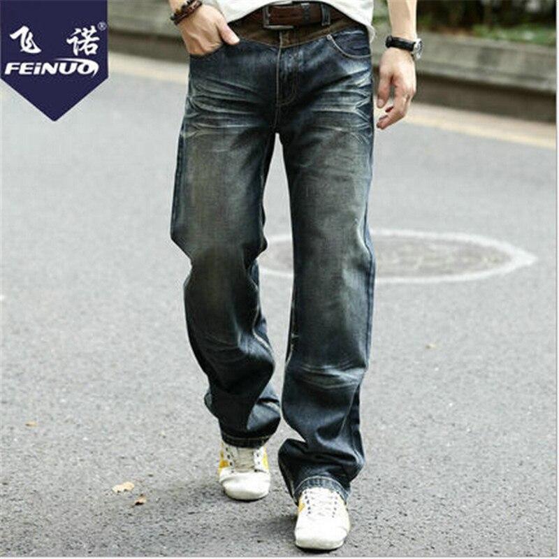 Plus Size Vintage Fashion Men Autumn And Winter Jeans Hip Hop Mens Jeans Brand Vintage Pants