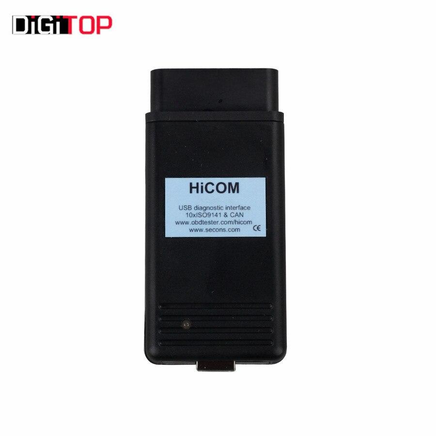 HiCOM OBD2 Professional Diagnostic Scanner for Hyundai/ for Kia Immobilizer Program Tool Contains 10 Multiplexed ISO9141 K-Lines