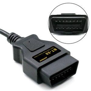 AUTOOL BT50 OBD2 автомобиль ECU аварийного питания для 12 В постоянного тока источник питания кабель OBD памяти Saver ECU разъем интерфейса питания