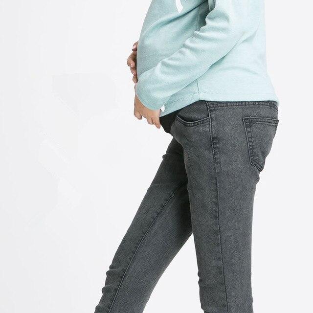 Для беременных брюки для беременных женщины одежда беременность одежда джинсы женщина деним брюки черный m,L Xl, Xxl