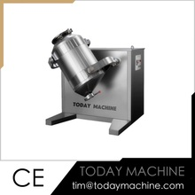 stainless steel lab mixer powder three-dimensional swing