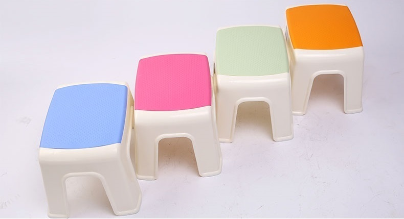 Bathroom Plastic Stool Foot Mage Orange Color Footrest Whole Retail Free Shipping In Chairs Stools From Furniture On Aliexpress