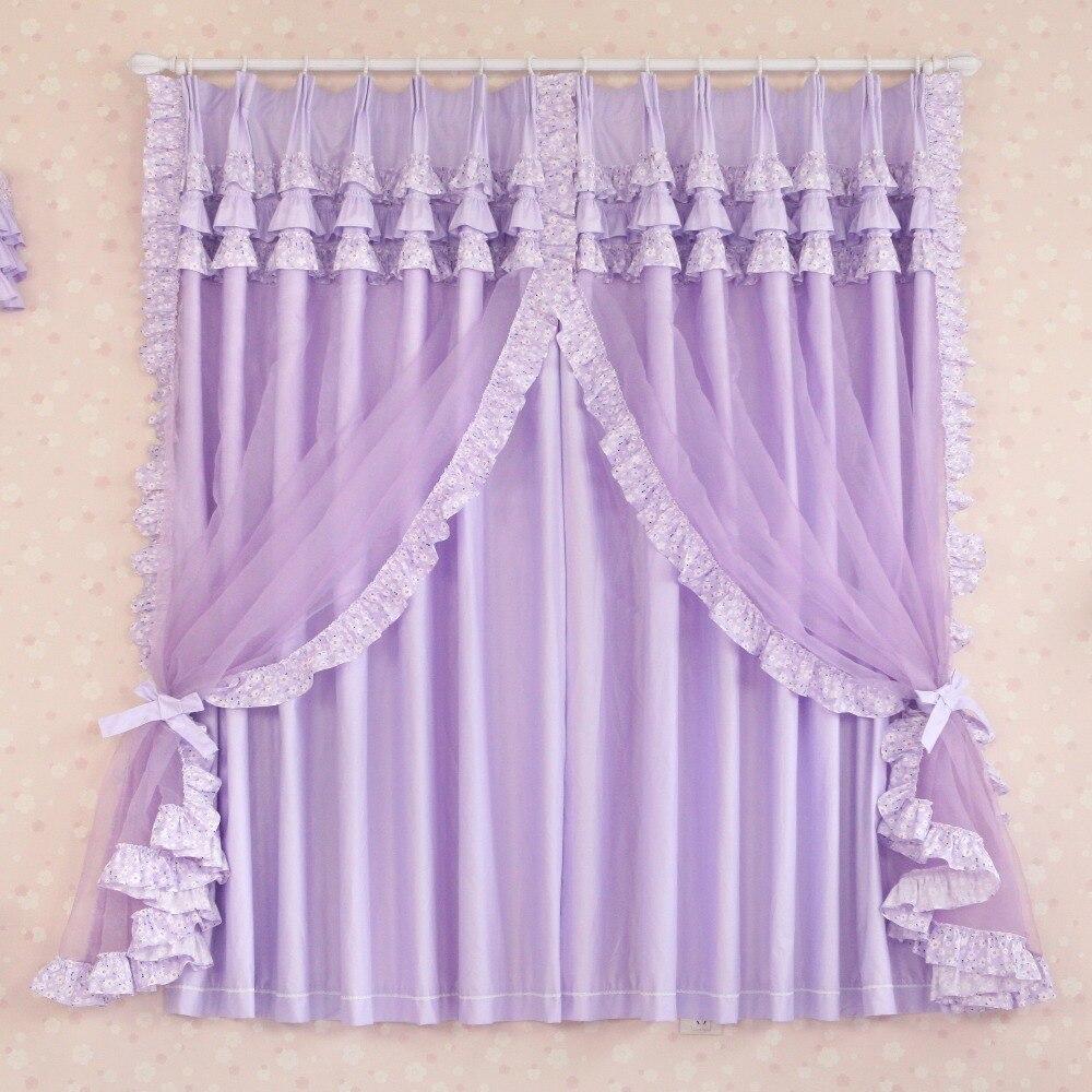 de encargo de lujo princesa moderna china pura cortinas para la sala de estar cortina de