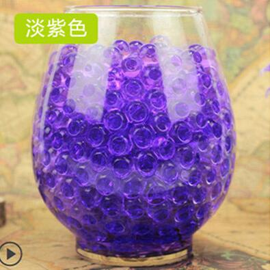 purple Plant bonsai soil,100pcs Crystal Soil Plant Flower Jelly Mud Water Beads for Plants Pearls Vase Soil Gel Balls toys