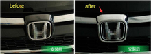 For Honda CRV CR V 2015 2016 ABS Front Grill Emblem Cover Trim 1 pcs auto
