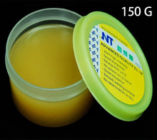 лучшая цена Solder Flux Soldering Paste NT ZJ-18 150g Yellow paste Advance Quality Solder Flux Soldering Paste High Intensity Free Rosin
