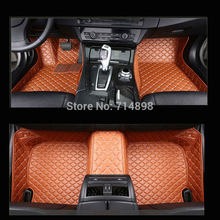 Carnong car mat floor Leather for AUDI TT 4 seat from 2008 2016 full set  pls remark the year of your car for our confirm