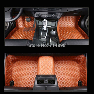 Image 1 - Carnong car mat floor Leather for AUDI TT 4 seat from 2008 2016 full set  pls remark the year of your car for our confirm