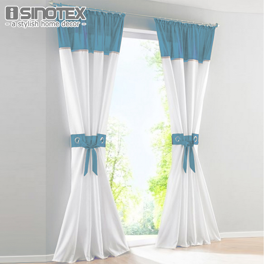 Window curtain drape panel blackout blinds polyester for Fabrics for children s curtains