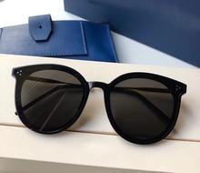 купить Vintage Round Sunglasses Women men Korea Gentle Designer Brand Big flat lens Jack hi Sun Glasses female uv400 Acetate Frame дешево