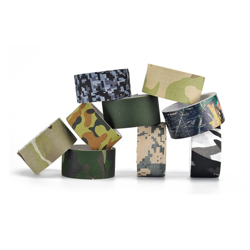 5m*50mm Military Camouflage Tape Gun Hiden Accessories Outdoor Hunting Camo Tape for Birds Watching Shooting Hunting Accessories