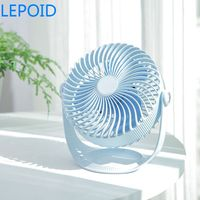 LEPOID Portable DC 5V Small Desk USB Cooler Cooling Fan USB Mini Fans Operation Super Mute Silent PC / Laptop / Notebook