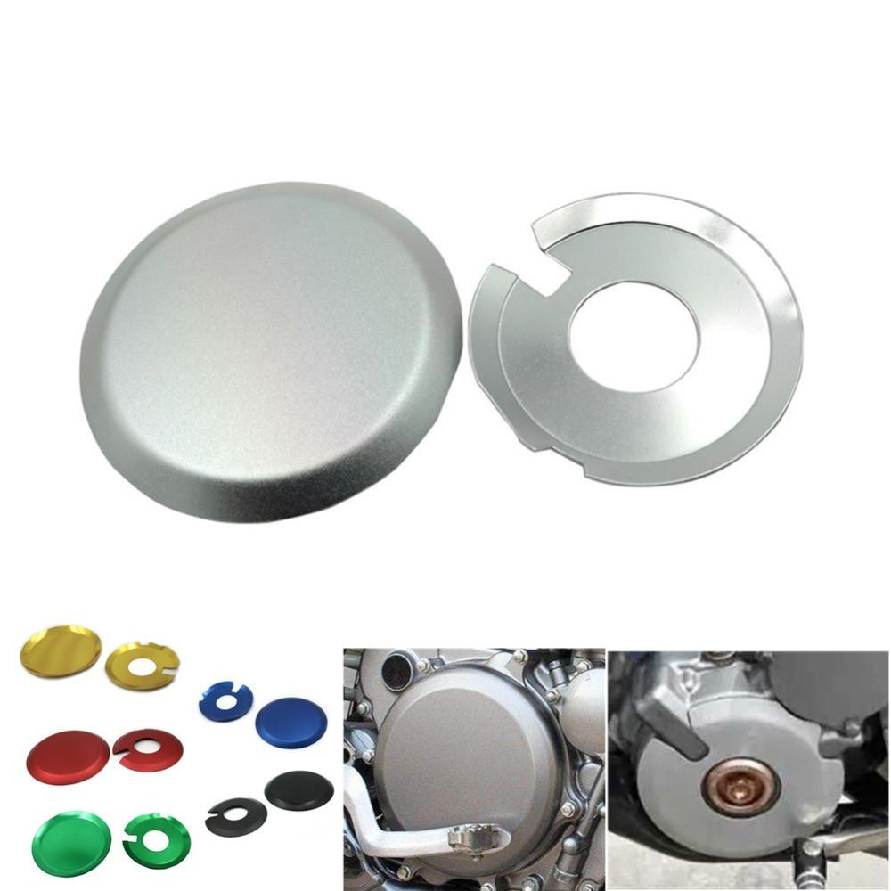 Ignition Clutch Case Covers Guards Kit For Suzuki DRZ400 DR-Z400S DRZ400SM Kawasaki KLX400 RED
