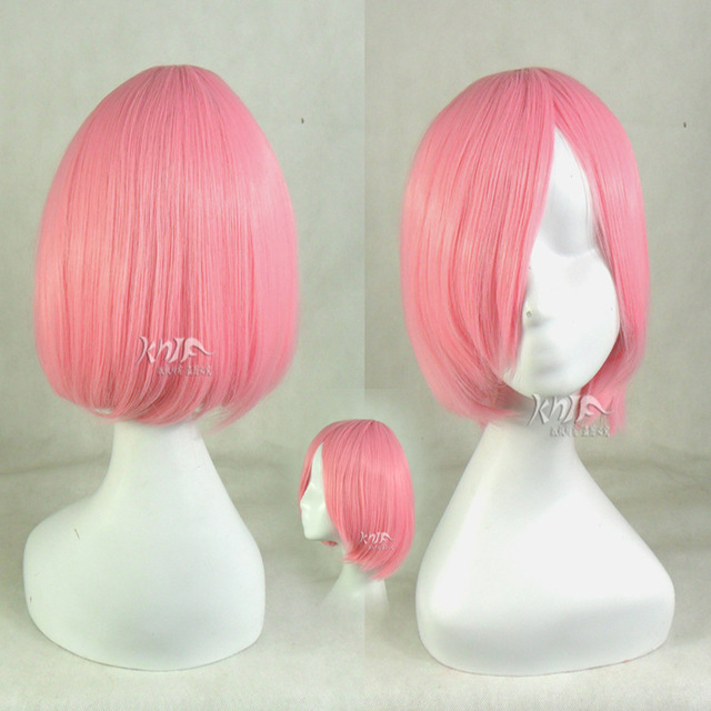 New arrival hair accessories pink synthetic hair jewelry for Kusajishi Yachiru animation Haruno Sakura cosplay wigs