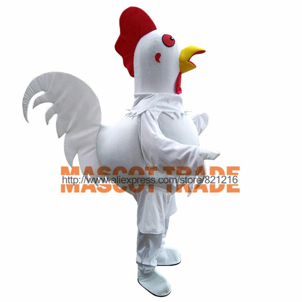 Offre spéciale Costume de mascotte de poulet pour adulte déguisement fête Costume d'halloween livraison gratuite