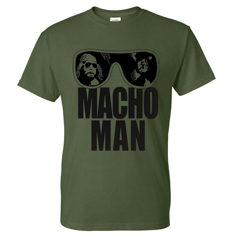 randy savage macho man t shirt