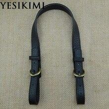 YESIKIMI 47-52 см* 2 см 1 пара ремней для сумок DIY сумка с ручками разделенная кожа Bolsa аксессуары сменная сумка на ремне ремни