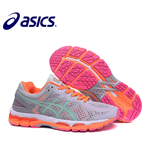 2018 Orginal New Arrival ASICS GEL-KAYANO 22 Women s Cushion Sneakers  Comfortable Outdoor Athletic Running shoes Hongniu 3fdc90199d