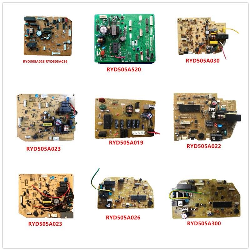 RYD505A028/RYD505A036/RYD505A520/RYD505A030/RYD505A023/RYD505A019/RYD505A022/RYD505A023/RYD505A026/RYD505A038/ RYD505A300 Used