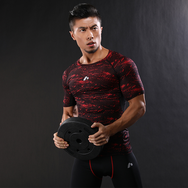 2017 New camouflage Brand clothing BE Gyms mens fitness t-shirt homme Muscle brother gyms t shirt men fitness crossfit tops