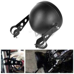 Image 5 - Универсальный светодиодный головной фонарь для автомобиля и мотоцикла, 5, 3/4 дюйма, 5,75 дюйма, H4, фара головного света для мотоцикла, фара головного света для Harley indian scout Honda
