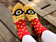 Got to love these Minion Socks , take them home