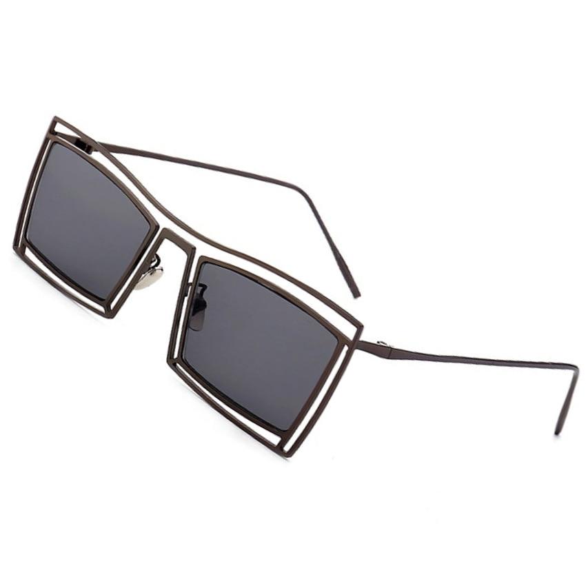 Obdélníkové sluneční brýle dámské Unisex Vintage značky Designer Outdoor Casual Sun Gasses Men UV400
