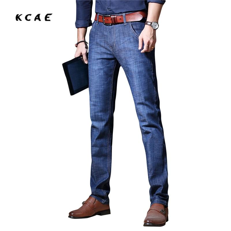 New Arrival Men's Elasticity Jeans Men's Casual Pants Cotton Slim Fit for Autumn-winter Free Shipping Wholesale