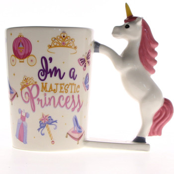 Ceramic Magical Pink Unicorn Mug