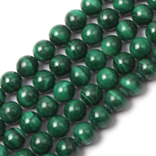 round malachite stone beads natural stone beads DIY loose beads for jewelry making strand 15 inches free shipping
