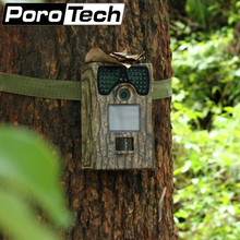 PR300 Hunting Trail Camera Full HD 12MP Photographs 1080P Video Night Vision Infrared Nice Farm Protect Camera Wood Grain Color