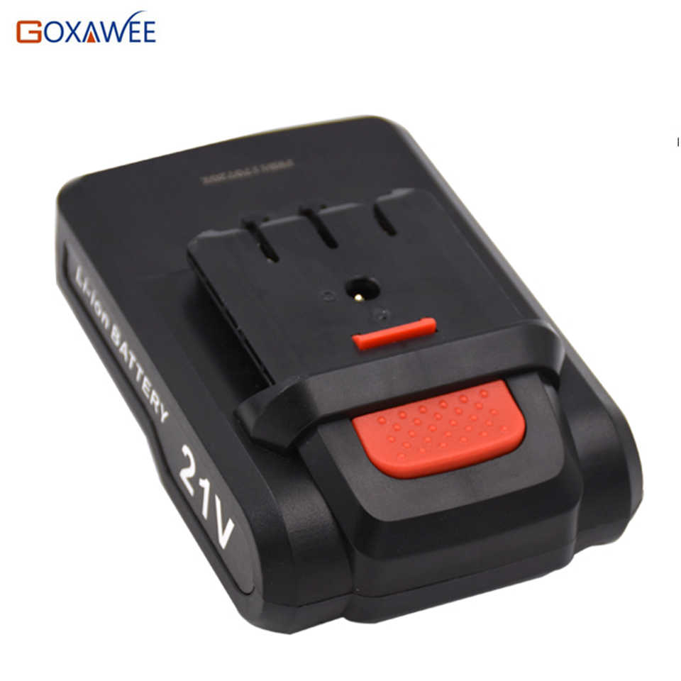 12V/16.8V/21V Rechargeable Battery For Cordless Electric Screwdriver Lithium Battery Power Tools Accessories