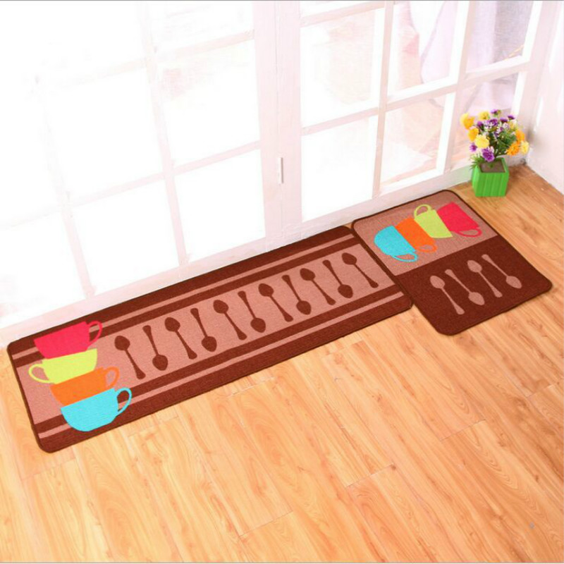 WINLIFE Simple Cartoon Style Rugs Japanese Style Entrance Doormat Anti Skid  Mats For Bedroom/