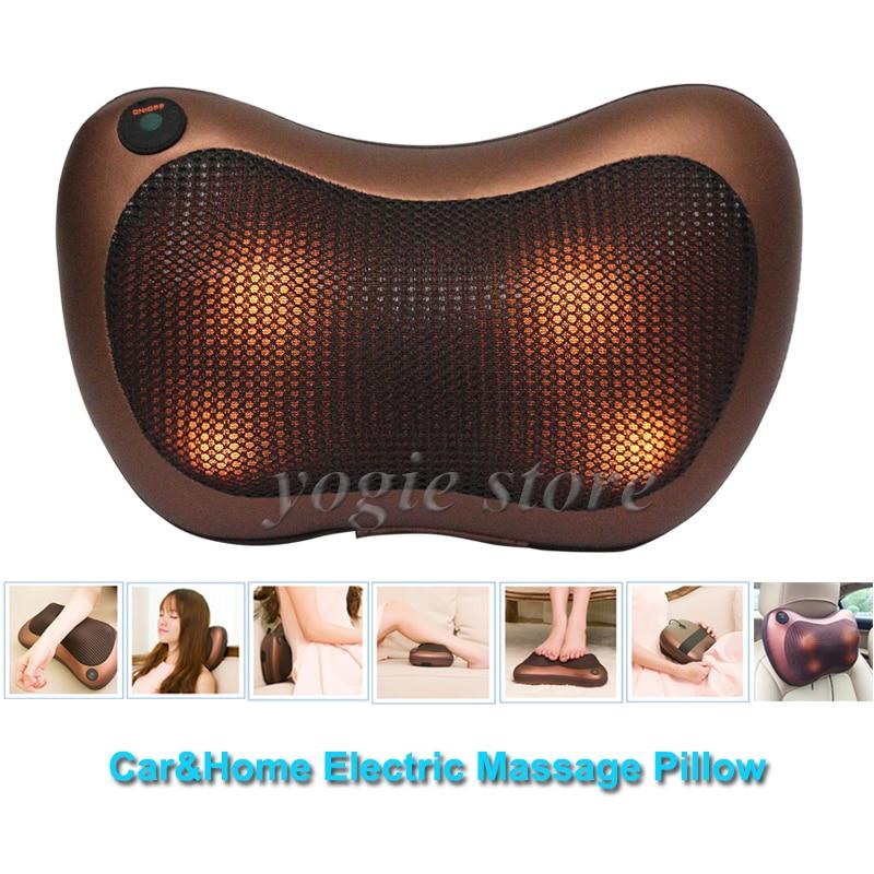 Elektronische massage kussen voor auto thuis elektrische for Shiatsu massage kussen
