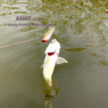 ANKI lengthy solid 18.5g/ 5.5cm VIBRATION minnow crank bait Wobblers Fishing lure Bait sharp HOOK with extra gap for spoon