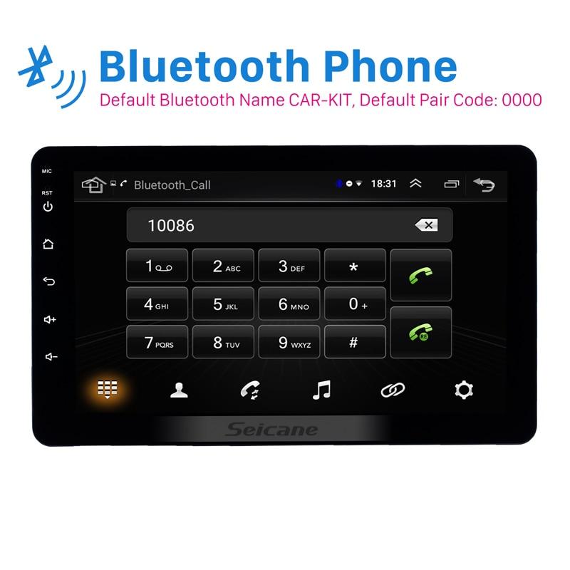 Seicane Universal 8 inch Android 8.1 2Din Car Headunit Radio GPS Navi Unit Player For Nissan TOYOTA Kia RAV4 Honda VW Hyundai-in Car Multimedia Player from Automobiles & Motorcycles    2