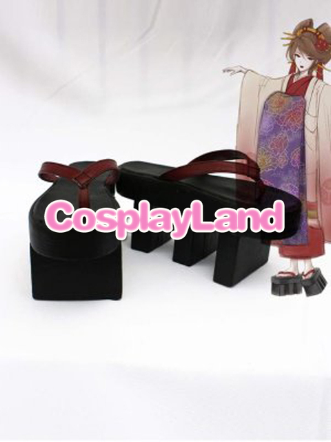 Customize Boots Vocaloid Cenbonzakura Meiko Cosplay Sandals Shoes Cosplay  Costume Halloween Party Cosplay Shoes