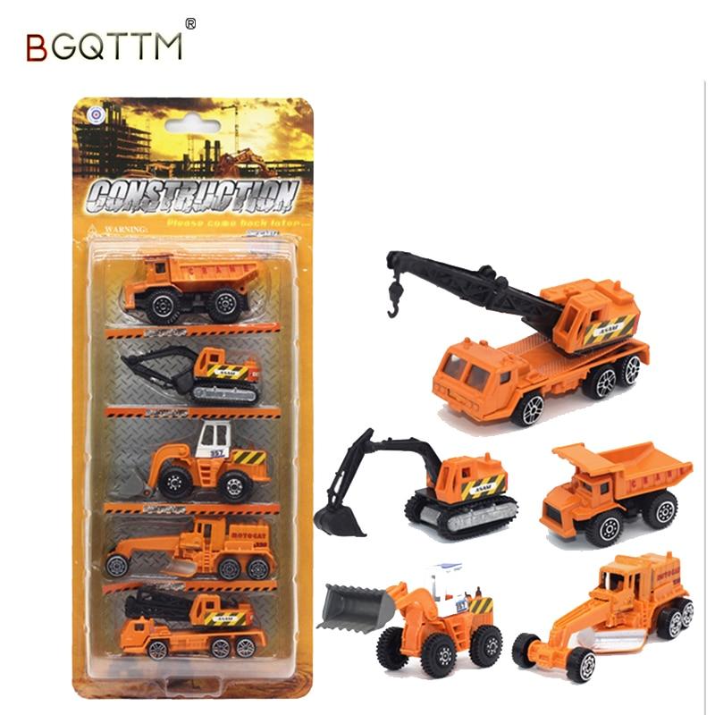 מיני Diecast רכב משאיות תחבורה מכונית - צעצוע כלי רכב