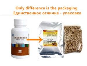 Image 2 - Cordyceps mycelium 500 Tablets/packs, Chinese caterpillar fungus, Cordyceps sinensis, aweto, Free shipping