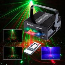 96 Padrões RG Projetor DJ Luz Do Estágio Do Laser Azul verde vermelho LED Magia Efeito bola de Discoteca com controlador de mover a cabeça Do Partido Da Lâmpada