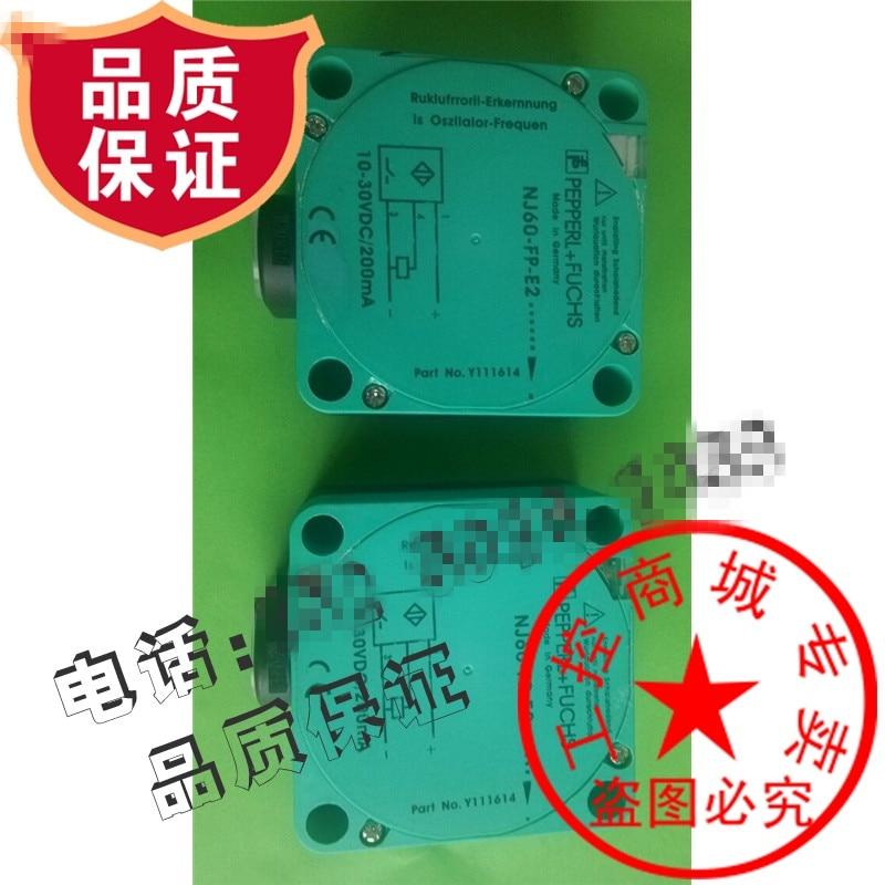 Original new 100% high quality import chip square proximity switch NJ60-FP-E2 sensor switch original new 100% high quality proximity switch nbb5 18gm60 e2 v1 plug in sensor switch