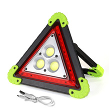 COB LED Work Light Inspection Lamp USB Rechargeable 20W Portable Lantern LED Flashlight Waterproof Emergency Light for Outdoor handheld portable lantern tent light usb rechargeable 30w xml l2 led flashlight 3 modes emergency work inspection lamp