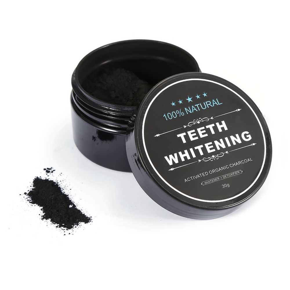 60/40/30g Activated Charcoal Tooth Powder Teeth Whitening Scaling Bamboo Charcoal Teeth Clean For Oral Hygiene Care TSLM2