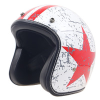 ZR052 serials extra light weight motorcycle helmet DOT Approved low profile open face helemt Vintage helmet