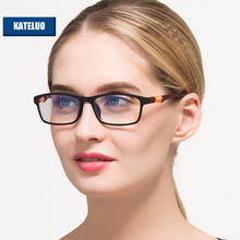 KATELUO TUNGSTEN CARBON STEEL Computer Goggles Anti Fatigue Radiation-resistant Reading Glasses Frame Eyeglasses 13022