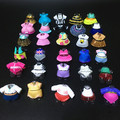 5/10/15/20 Pcs/lot Original Mini 2cm Dress Clothes for 8cm Sister Dolls Baby Doll DIY Kid Birthday Christmas Gift Randomly Send