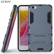 Pour couverture BBK Vivo Y55 étui Silicone Robot en caoutchouc dur téléphone couverture étui pour Vivo Y55 couverture pour BBK Vivo Y55 Coque XYWZV