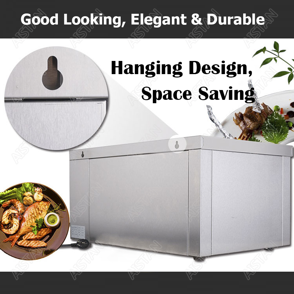 AT936 stainless steel electric hanging salamander for barbecue and kitchen equipment 3
