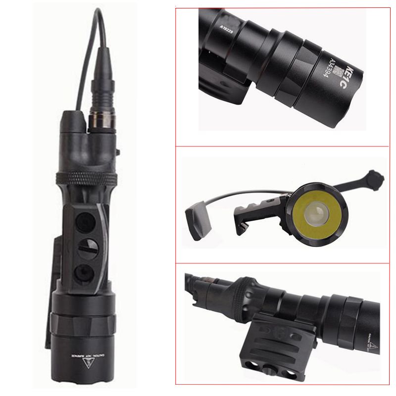 2019 NEW Tactical M312 Weapon Flashlight CREE XLamp with 2 different operation methods Airsoft Weapon Light