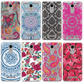 2016 New Flowers Fruits Pattern Case For Xiaomi Mi4 Mi5 Redmi 3S 3 Pro Note 3 Note 4 Fundas Shell Cover Soft TPU Phone Cases